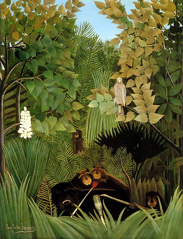 Henri Rousseau was a French Post-Impressionist painter in the Naïve ... Webbed Hands