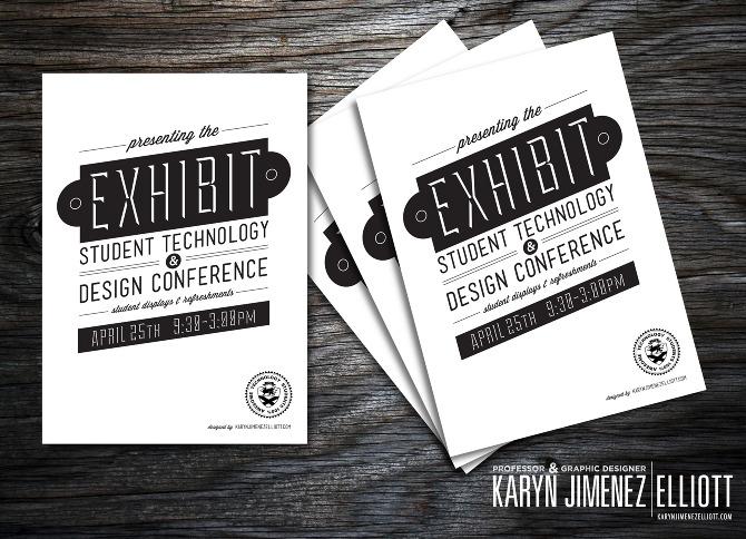 Exhibition Booth Invitation : Exhibit conference invite karyn jimenez elliott