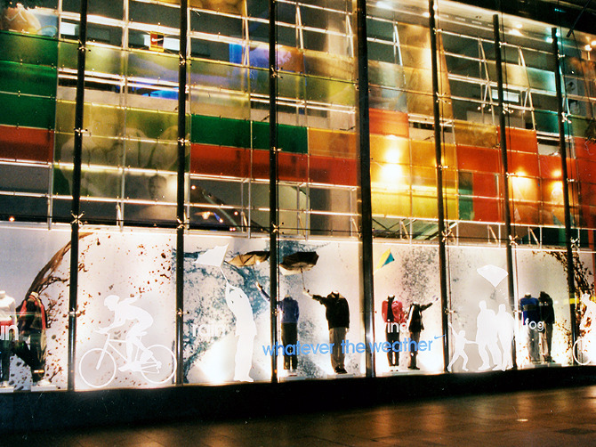 Nike Flagship Store Melbourne Outside Window Instore Graphics