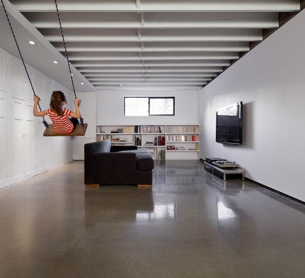 Projet jeanne d arc atelierb - Finition plancher beton sous sol ...